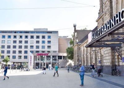 P24/7 Parkhaus - Hauptbahnhof und CinemaxX