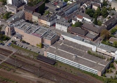 Luftbild 24/7 Parkhaus aus Richtung Deutscher Bahn